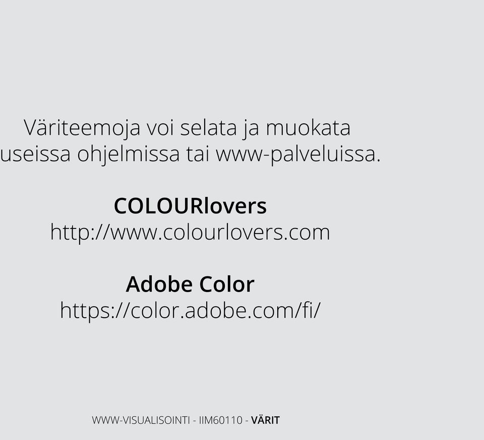 COLOURlovers http://www.colourlovers.