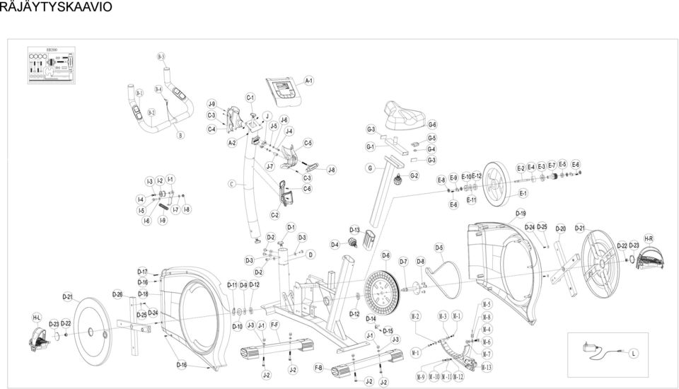 7*2t(2) No:J-8 C-shape knob M7*65L(1) No:J-7 Bushing φ12*40l (1) No:J-5 Regular Washer?
