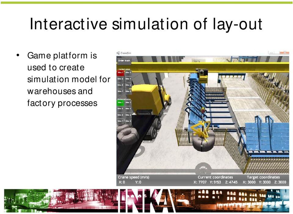to create simulation model