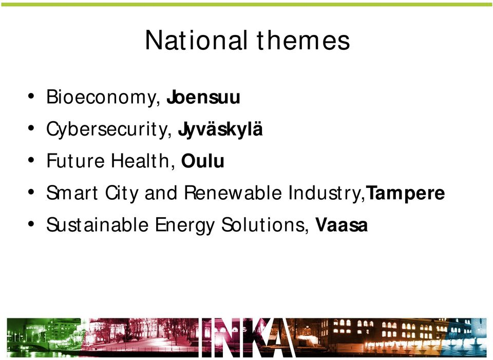 Oulu Smart City and Renewable