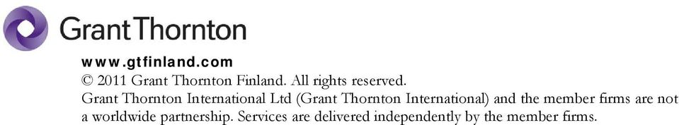 Thornton International) and the member firms are