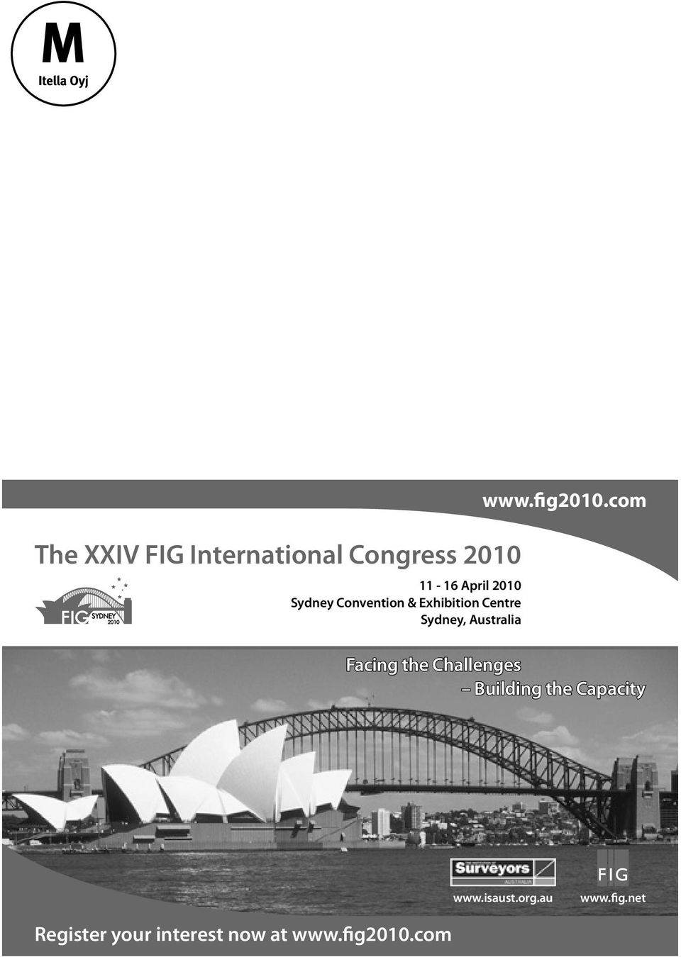 fig2010.com Facing the Challenges Building the Capacity www.