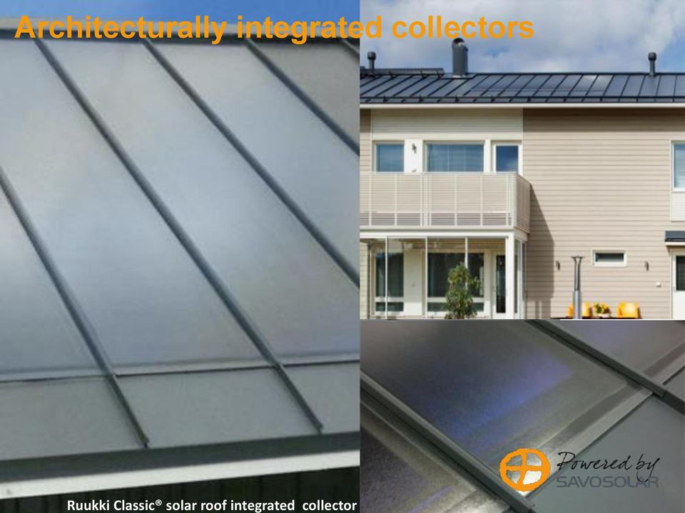 roof integrated collector