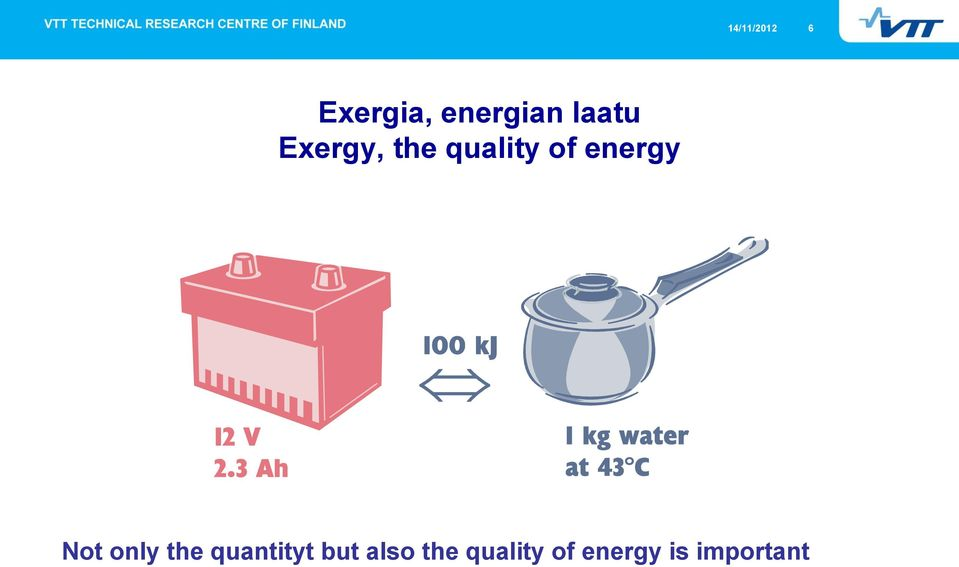 energy Not only the quantityt but