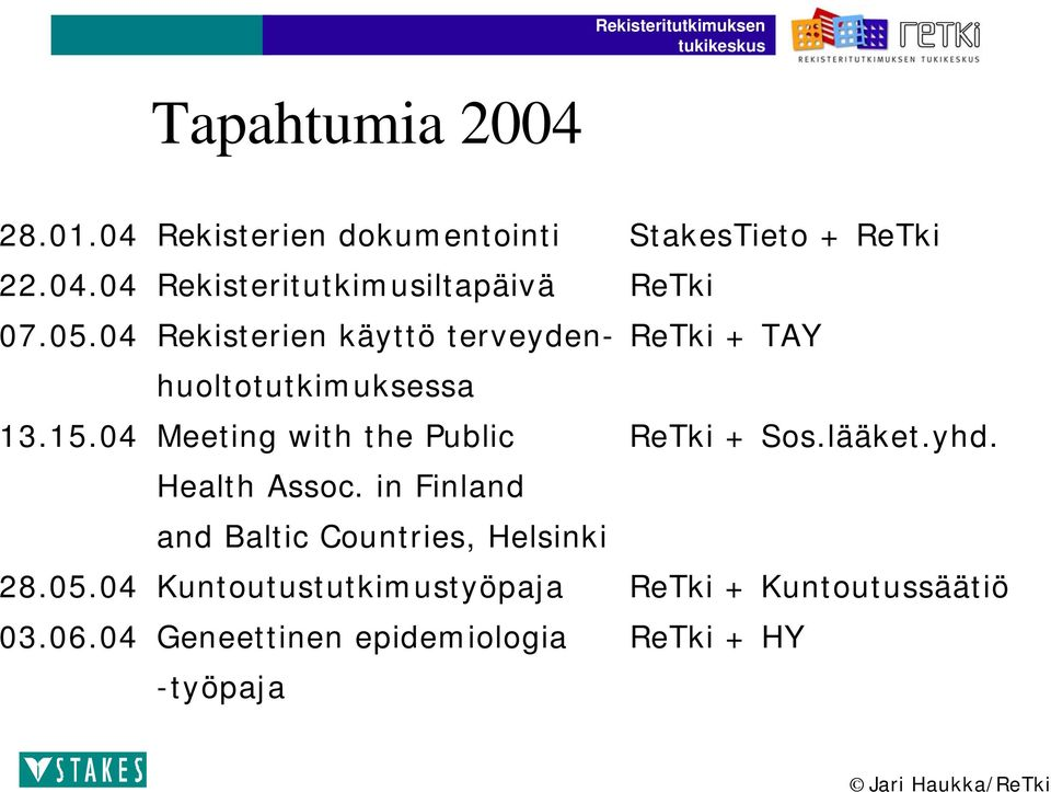 lääket.yhd. Health Assoc. in Finland and Baltic Countries, Helsinki 28.05.