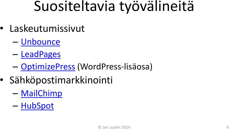 OptimizePress (WordPress-lisäosa)