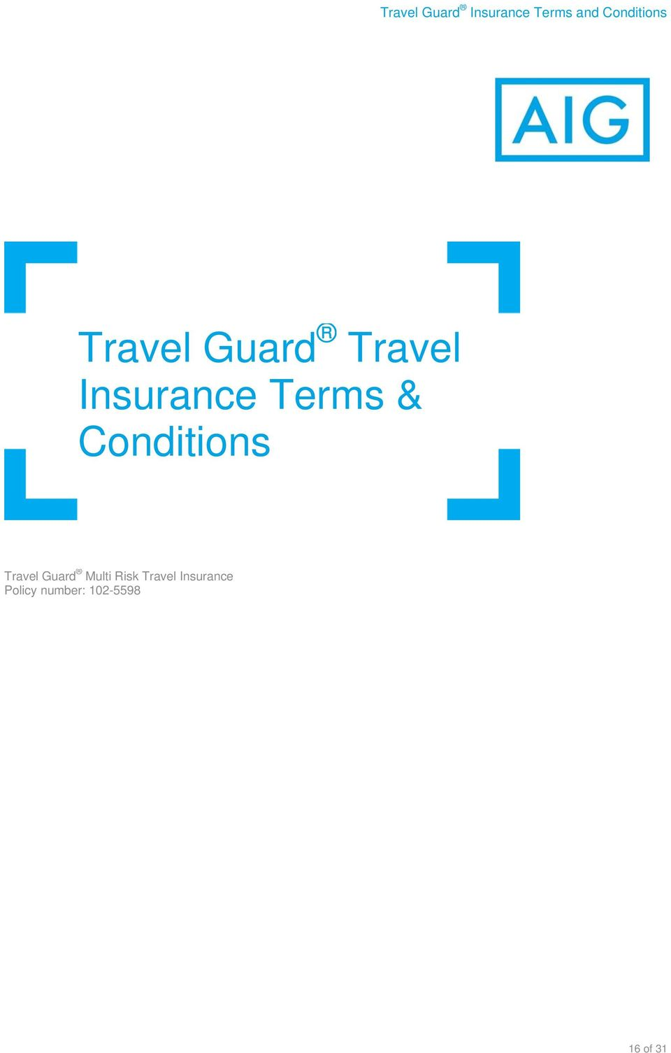 Guard Multi Risk Travel