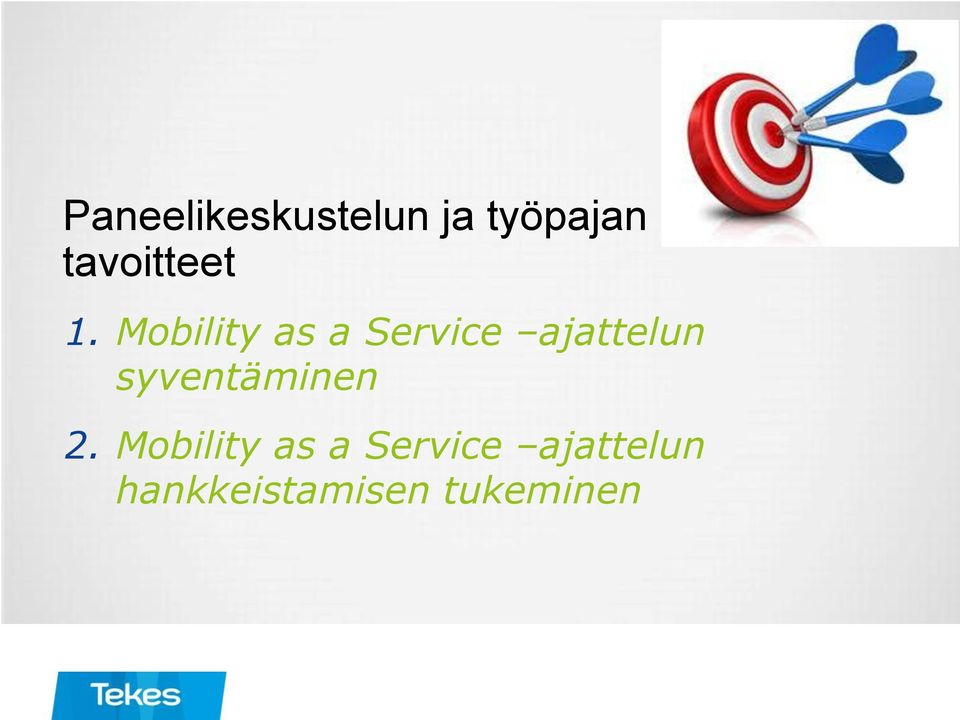 Mobility as a Service ajattelun