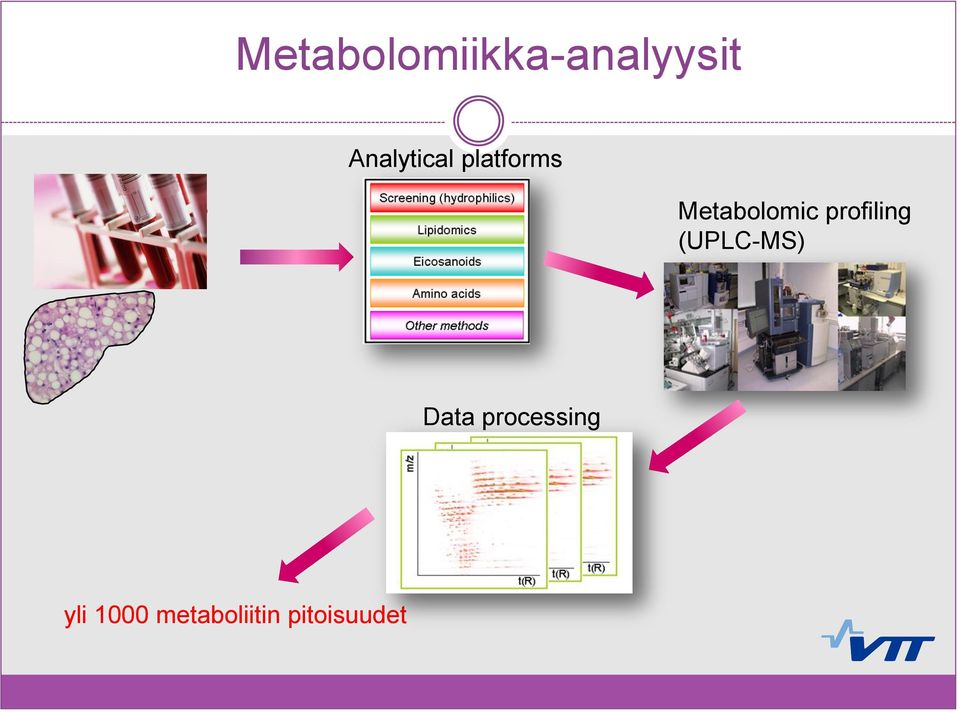 Metabolomic profiling (UPLC-MS)