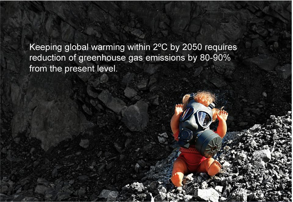 of greenhouse gas emissions by
