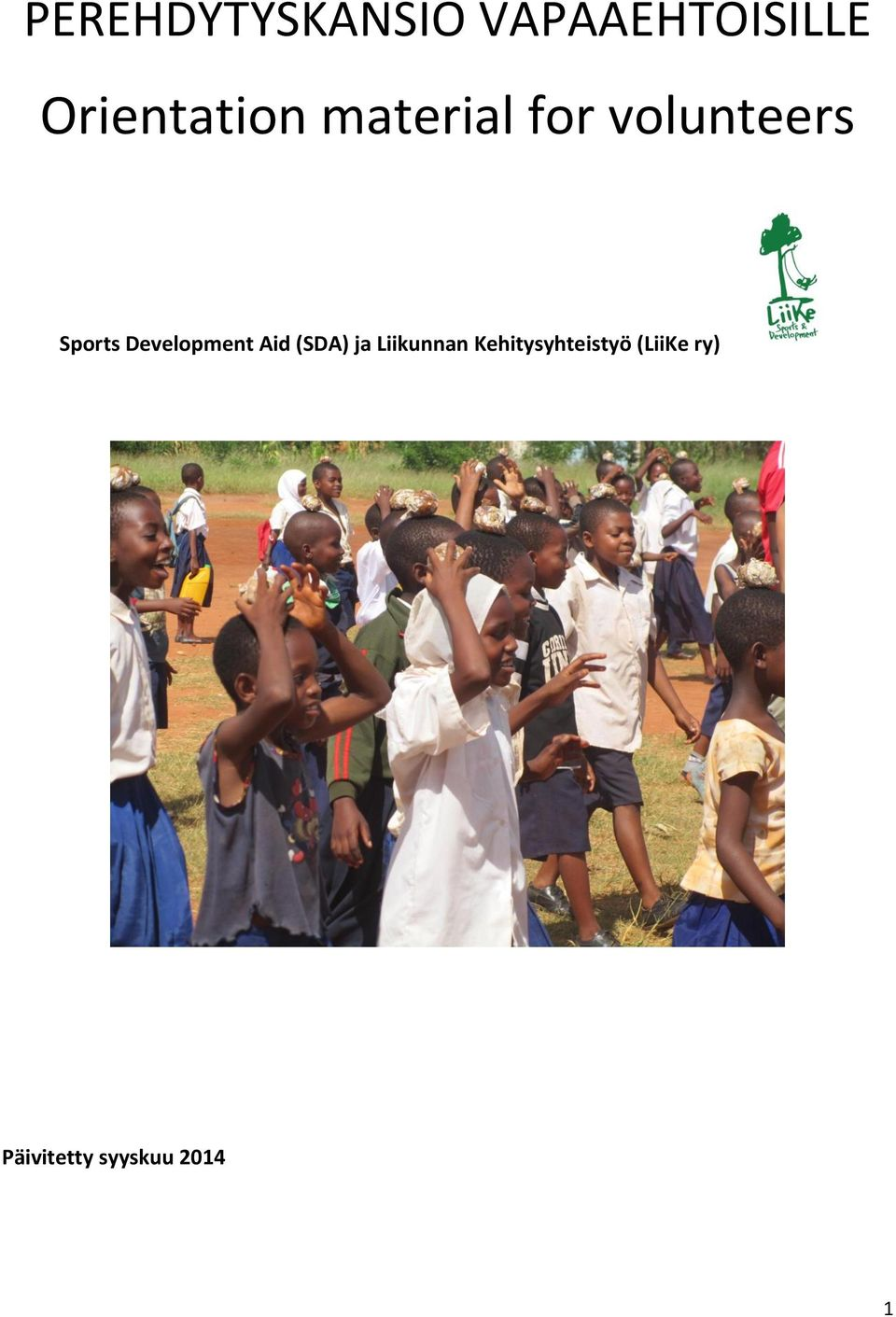 Sports Development Aid (SDA) ja