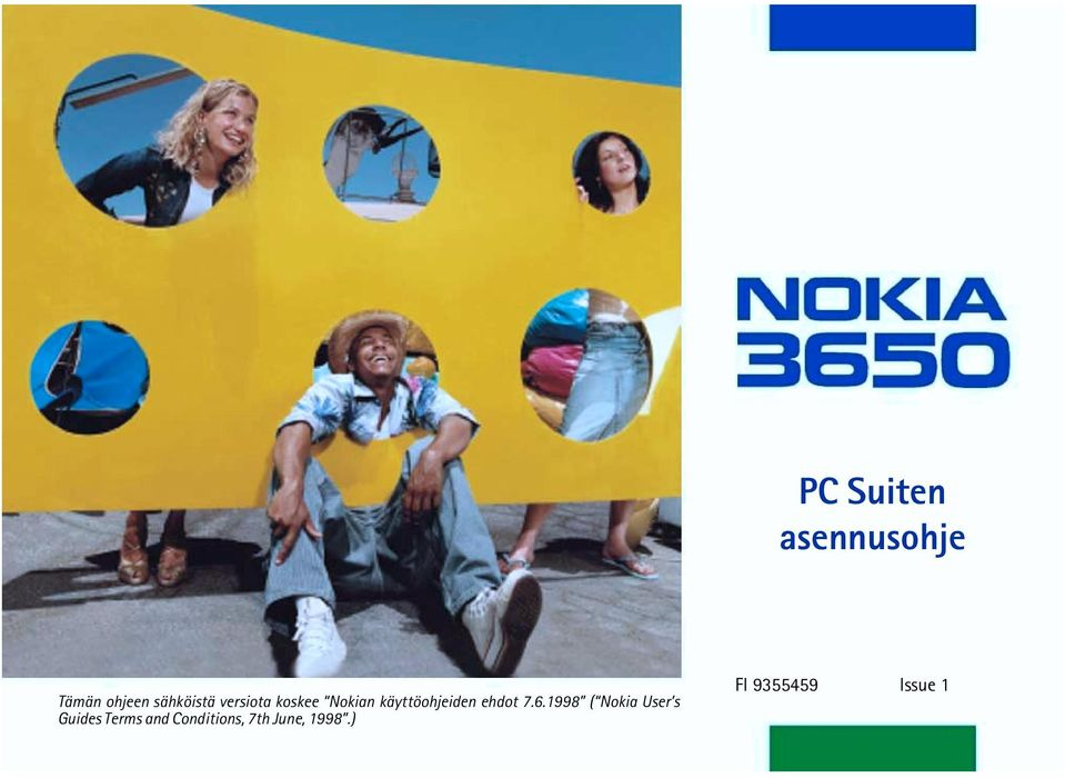 7.6.1998 ( Nokia User s Guides Terms and