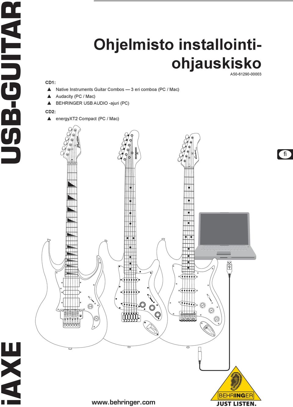 Instruments Guitar Combos 3 eri comboa (PC / Mac)