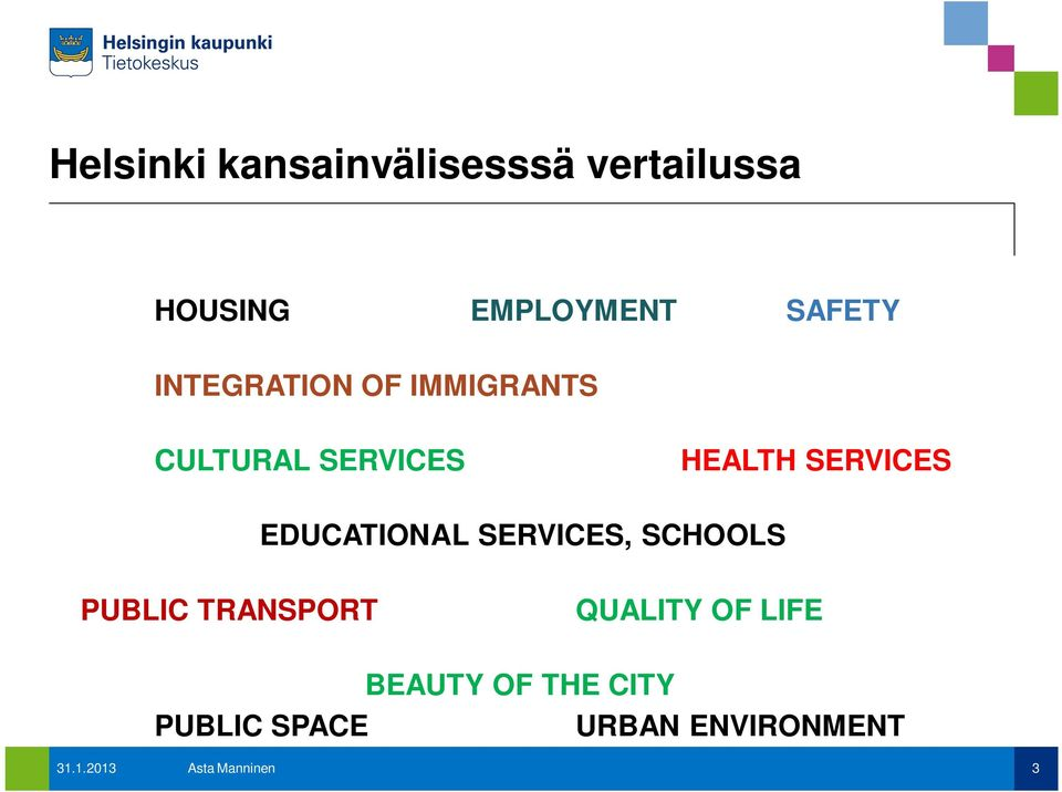 EDUCATIONAL SERVICES, SCHOOLS PUBLIC TRANSPORT QUALITY OF LIFE
