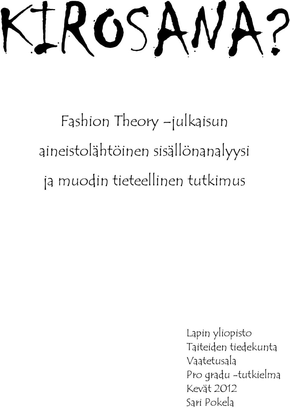 Fashion and Textile Studies: History, Theory, Museum 18
