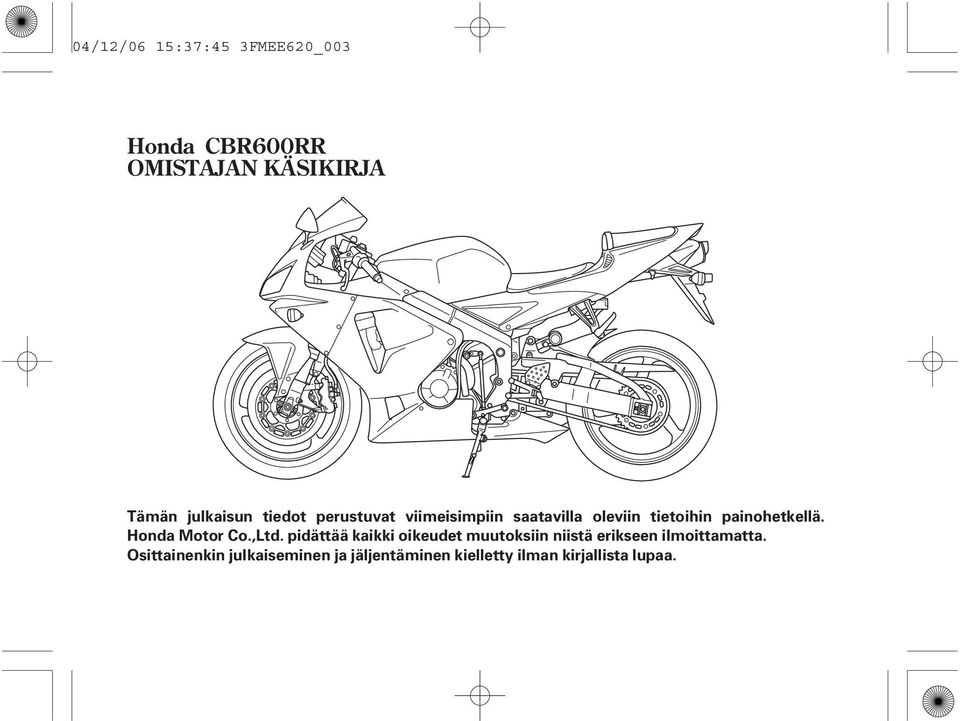 Honda Motor Co.,Ltd.