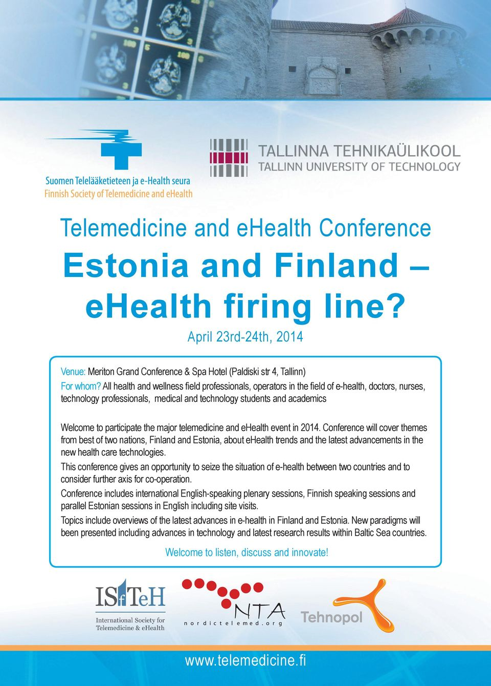 major telemedicine and ehealth event in 2014.