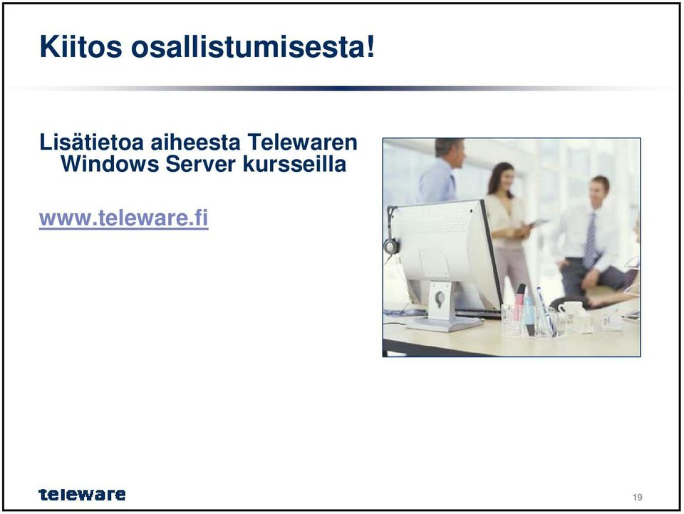 Telewaren Windows Server