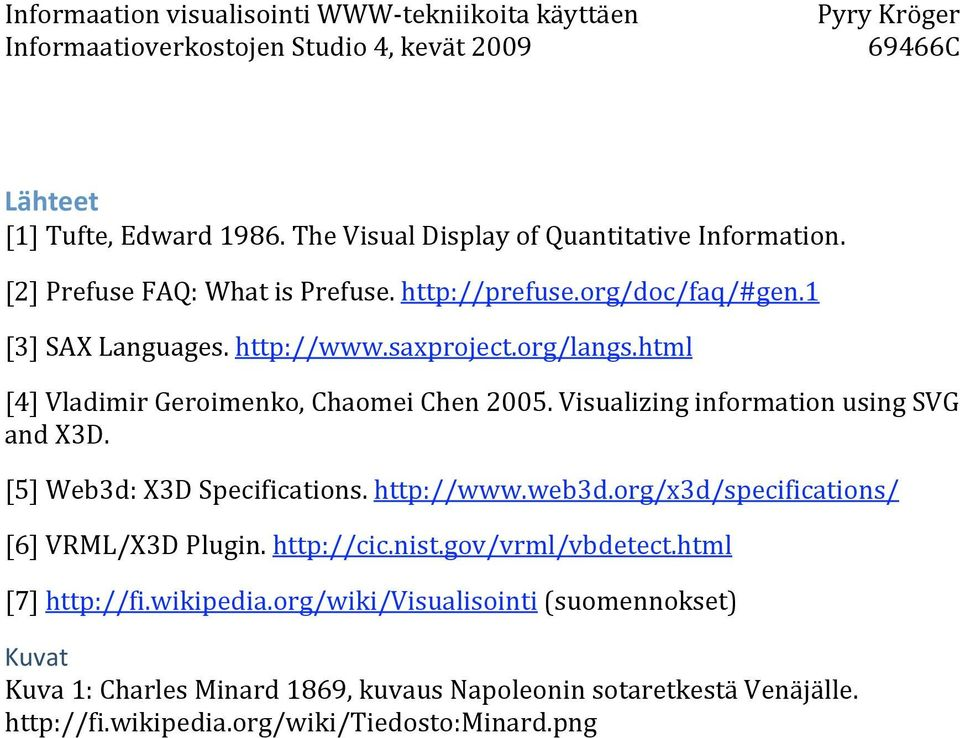 [5] Web3d: X3D Specifications. http://www.web3d.org/x3d/specifications/ [6] VRML/X3D Plugin. http://cic.nist.gov/vrml/vbdetect.html [7] http://fi.