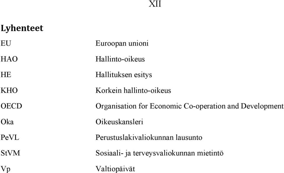 Organisation for Economic Co-operation and Development Oikeuskansleri