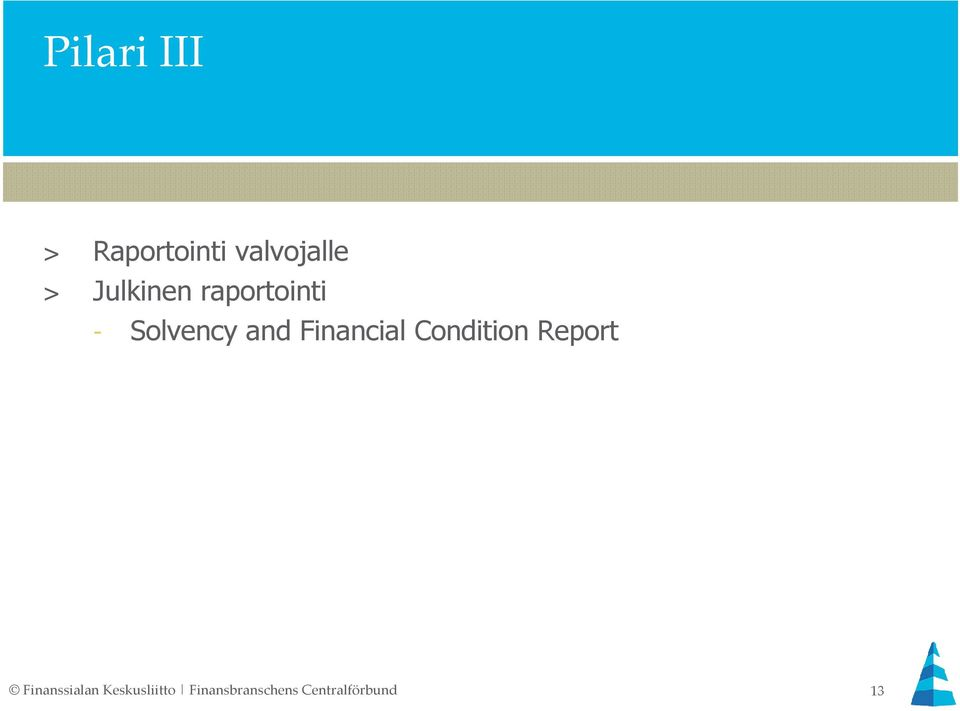 Financial Condition Report Finanssialan
