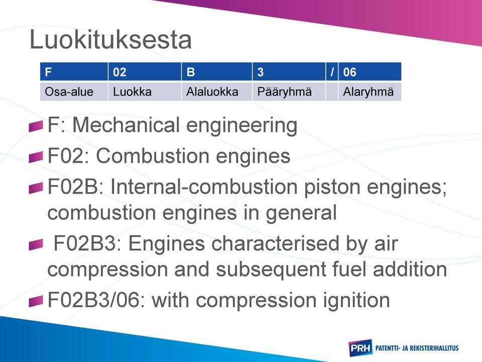 piston engines; combustion engines in general F02B3: Engines characterised