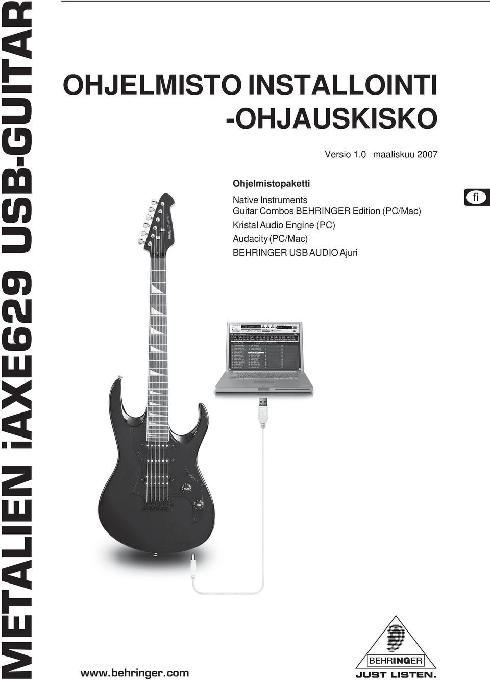 Instruments Guitar Combos BEHRINGER Edition (PC/Mac)