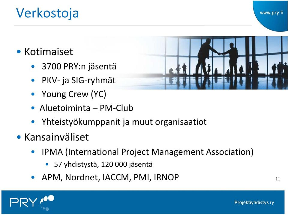 organisaatiot Kansainväliset IPMA (International Project Management