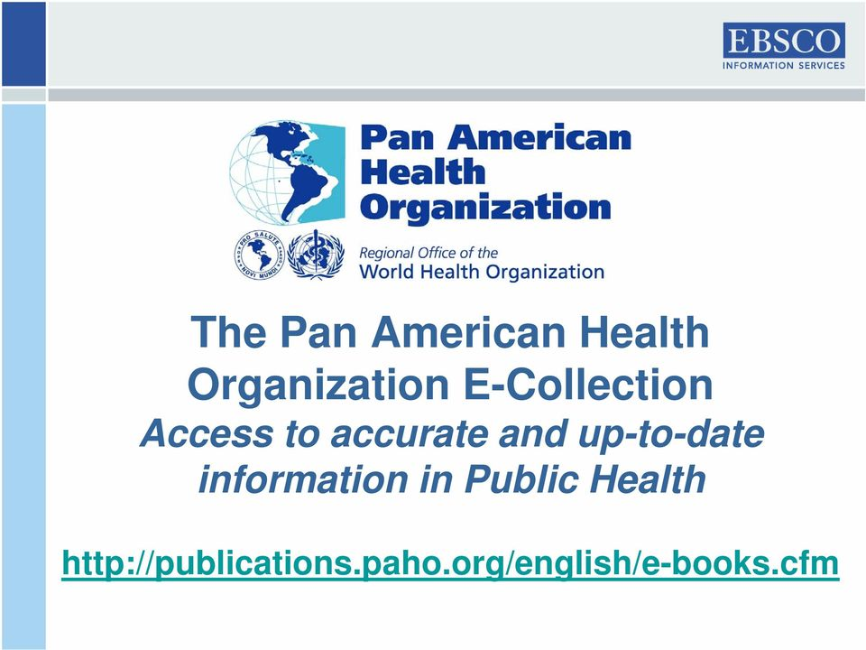 up-to-date information in Public Health