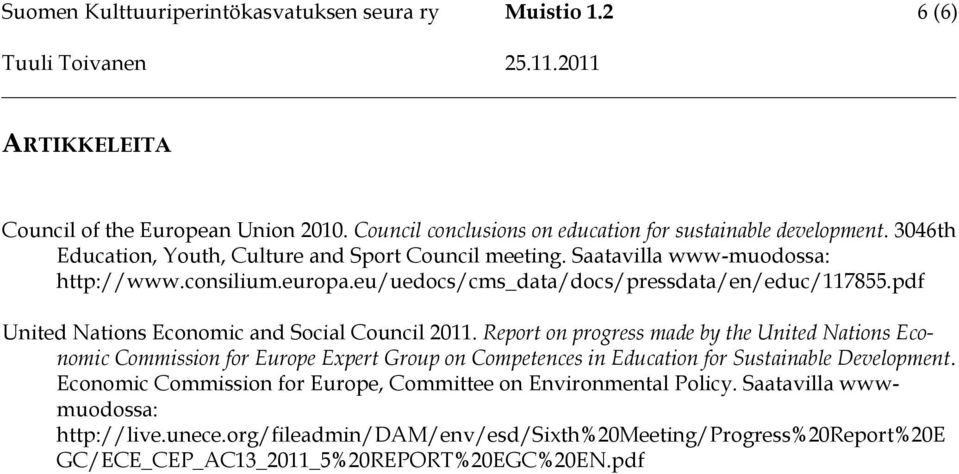 pdf United Nations Economic and Social Council 2011.