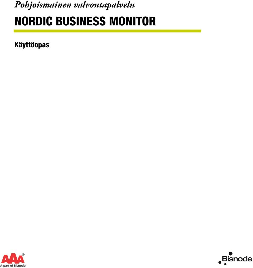 NORDIC BUSINESS