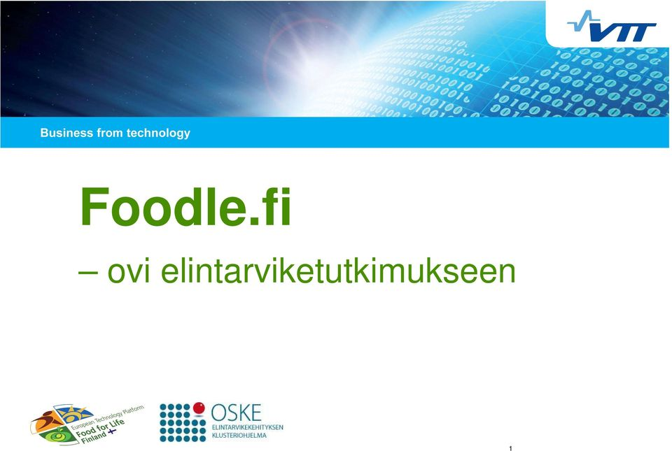 FINLAND Foodle.