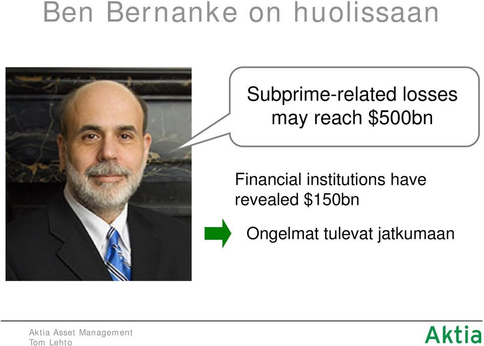 $500bn Financial institutions have