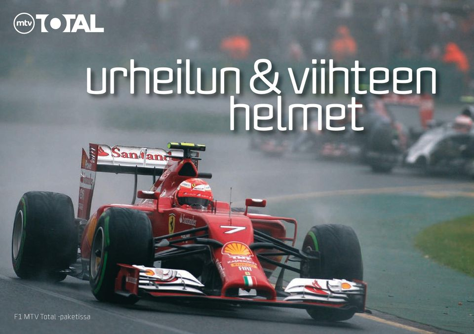 helmet F1 TV