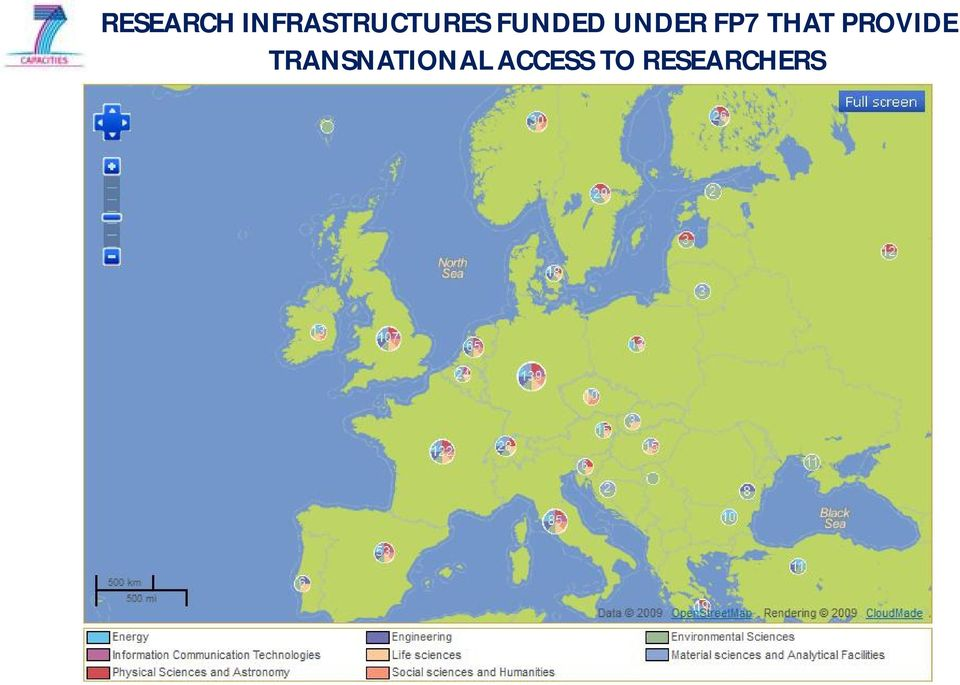 UNDER FP7 THAT PROVIDE