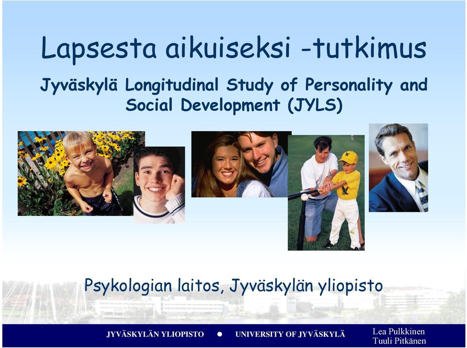 Personality and Social Development