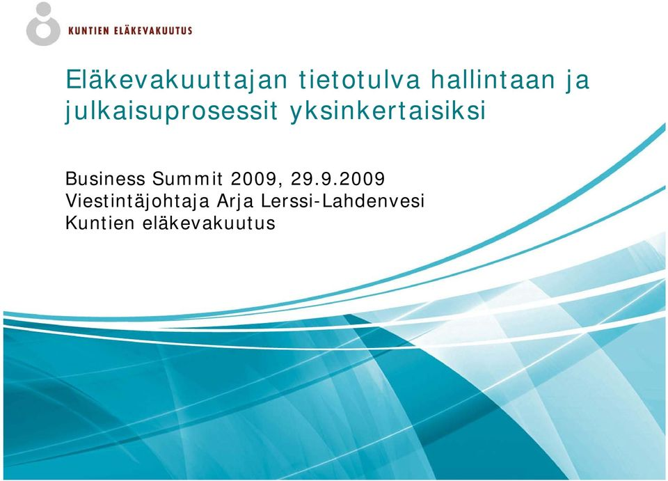Business Summit 2009,