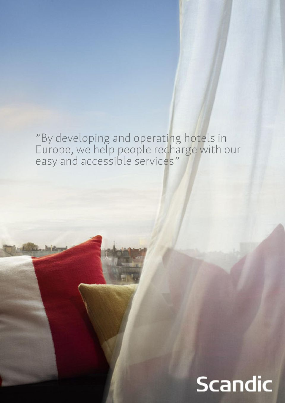 Europe, we help people