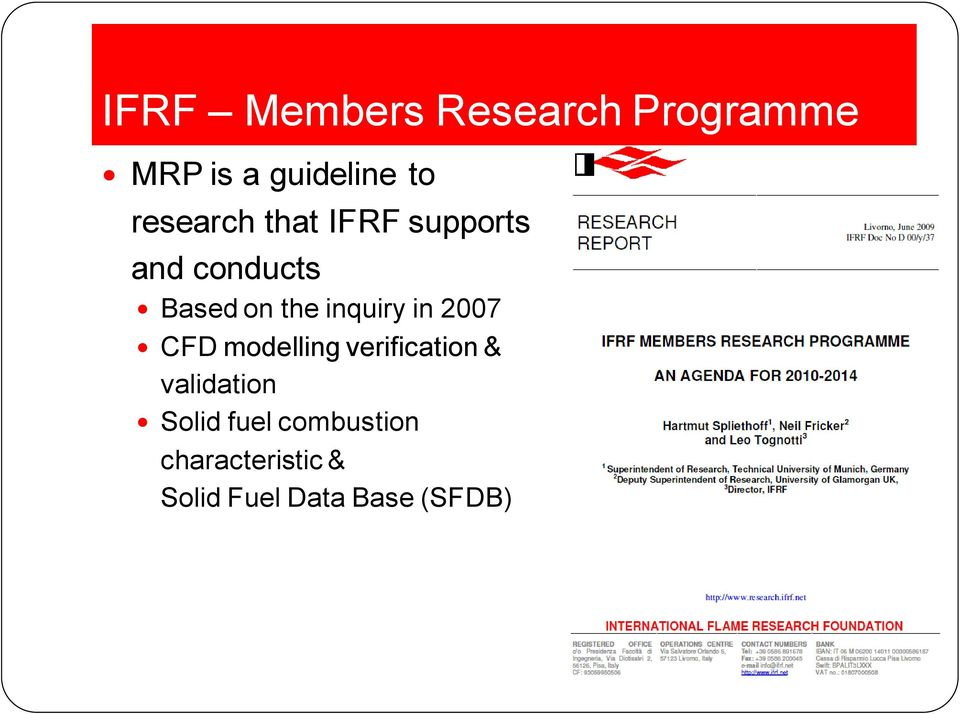 inquiry in 2007 CFD modelling verification & validation