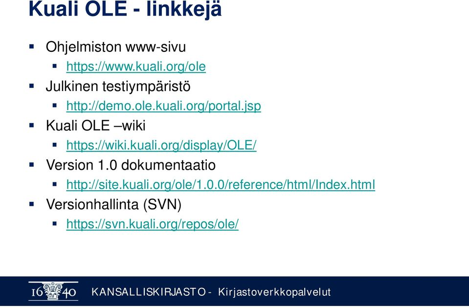 jsp Kuali OLE wiki https://wiki.kuali.org/display/ole/ Version 1.