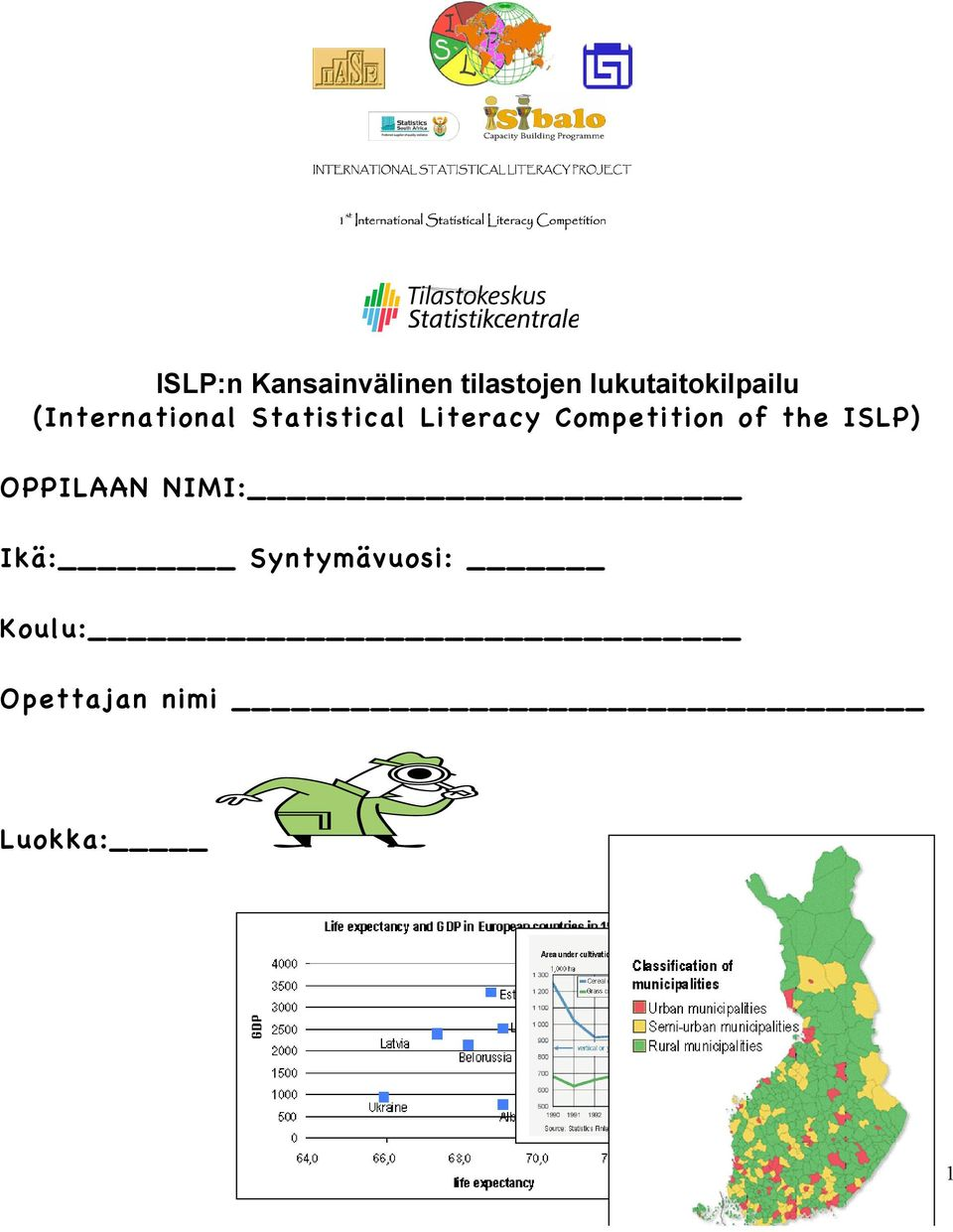 Literacy Competition of the ISLP) OPPILAAN