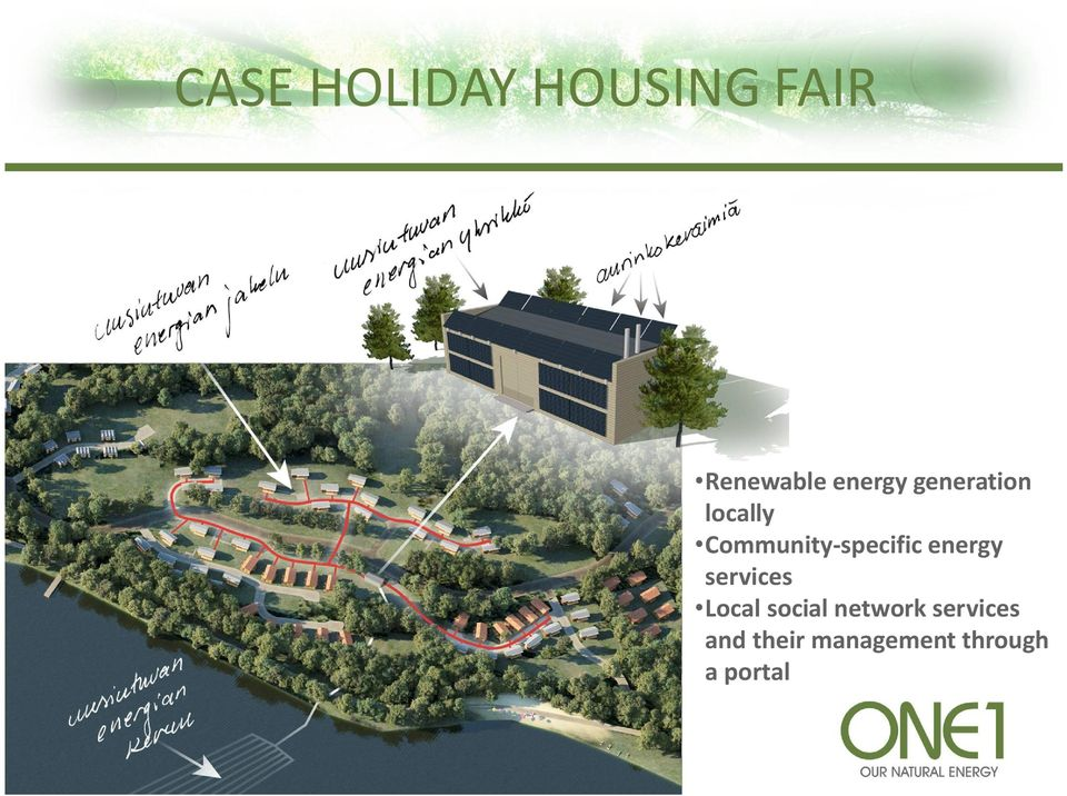 Community-specific energy services Local