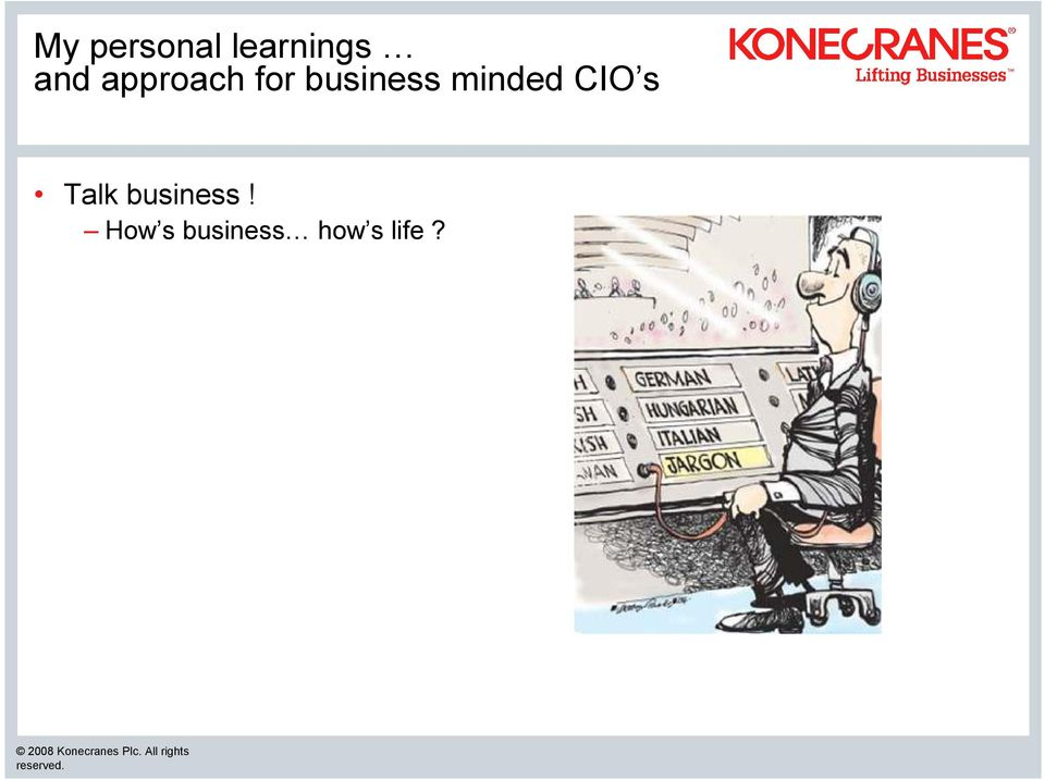 minded CIO s Talk