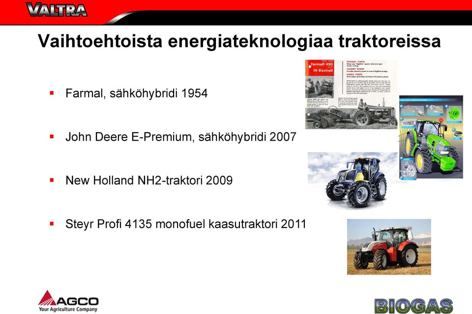 E-Premium, sähköhybridi 2007 New Holland