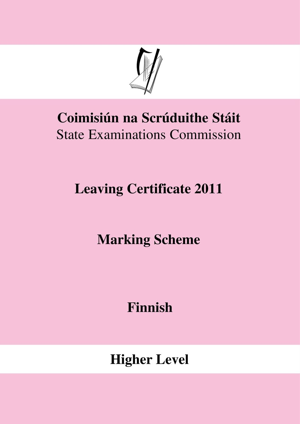 Leaving Certificate 2011