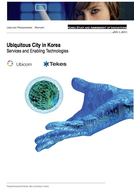 Ubicom julkaisuja Foresight study of mobile M2M market in Japan 2011 Internet of Things China 2011 Study and Assessment of Innovations in Key Technologies and Relevant Markets in Japan Japanin
