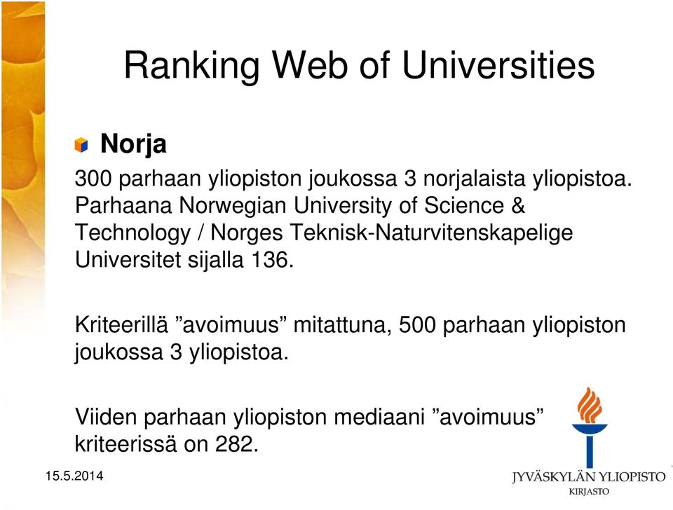 Parhaana Norwegian University of Science & Technology / Norges