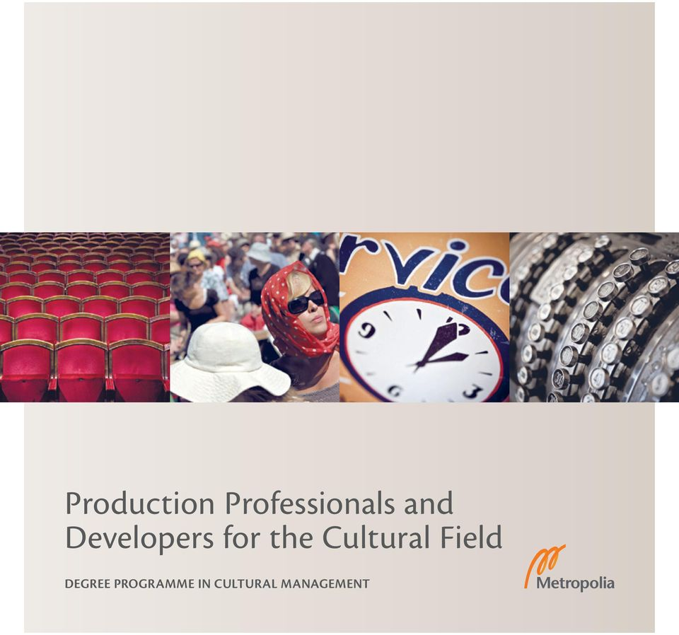 Cultural Field DEGREE