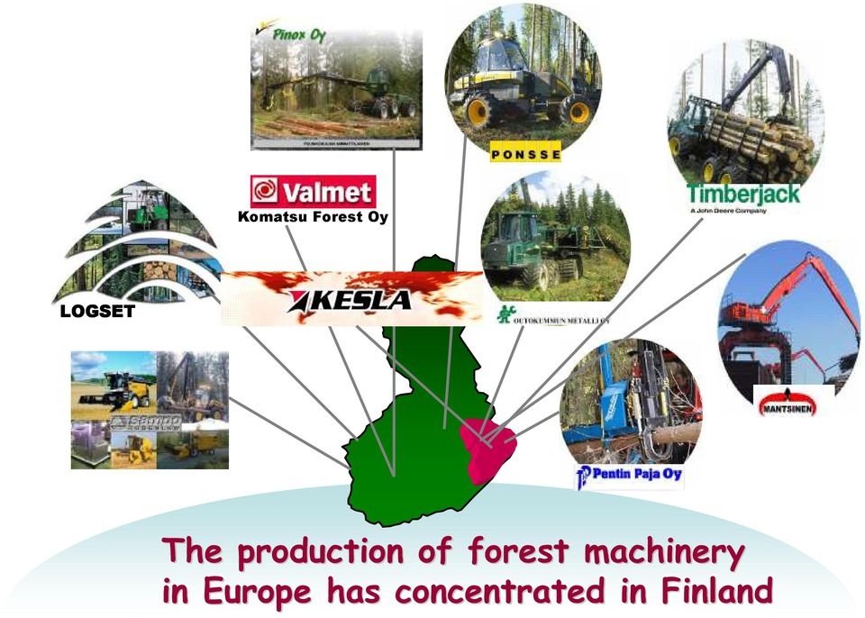 machinery in Europe has