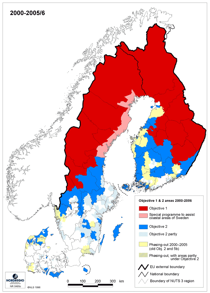 Map of eligible areas